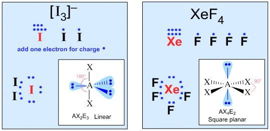 I 3 Lewis Dot Structure Valence Shell Electron...